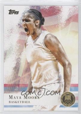 2012 Topps U.S. Olympic Team and Olympic Hopefuls - [Base] - Gold #60 - Maya Moore