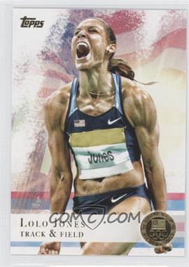 2012 Topps U.S. Olympic Team and Olympic Hopefuls - [Base] - Gold #70 - Lolo Jones