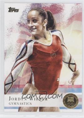 2012 Topps U.S. Olympic Team and Olympic Hopefuls - [Base] - Gold #78 - Jordyn Wieber