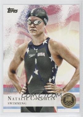 2012 Topps U.S. Olympic Team and Olympic Hopefuls - [Base] - Gold #9 - Natalie Coughlin