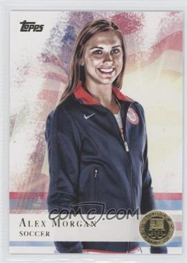 2012 Topps U.S. Olympic Team and Olympic Hopefuls - [Base] - Gold #90 - Alex Morgan