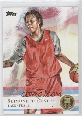 2012 Topps U.S. Olympic Team and Olympic Hopefuls - [Base] - Gold #91 - Seimone Augustus