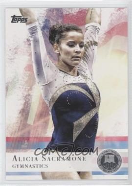 2012 Topps U.S. Olympic Team and Olympic Hopefuls - [Base] - Silver #11 - Alicia Sacramone