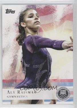 2012 Topps U.S. Olympic Team and Olympic Hopefuls - [Base] - Silver #15 - Aly Raisman