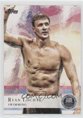 2012 Topps U.S. Olympic Team and Olympic Hopefuls - [Base] - Silver #17 - Ryan Lochte