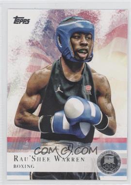 2012 Topps U.S. Olympic Team and Olympic Hopefuls - [Base] - Silver #2 - Rau'Shee Warren