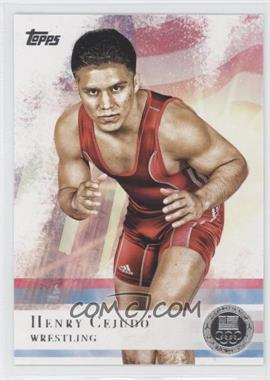 2012 Topps U.S. Olympic Team and Olympic Hopefuls - [Base] - Silver #33 - Henry Cejudo