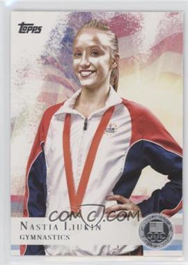 2012 Topps U.S. Olympic Team and Olympic Hopefuls - [Base] - Silver #43 - Nastia Liukin