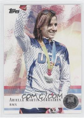 2012 Topps U.S. Olympic Team and Olympic Hopefuls - [Base] - Silver #67 - Arielle Martin Verhaaren