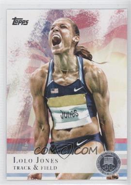 2012 Topps U.S. Olympic Team and Olympic Hopefuls - [Base] - Silver #70 - Lolo Jones