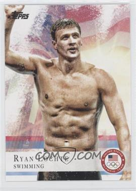 2012 Topps U.S. Olympic Team and Olympic Hopefuls - [Base] #17 - Ryan Lochte