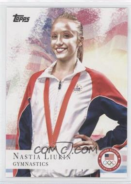 2012 Topps U.S. Olympic Team and Olympic Hopefuls - [Base] #43 - Nastia Liukin