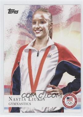 2012 Topps U.S. Olympic Team and Olympic Hopefuls - [Base] #43 - Nastia Liukin
