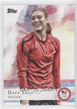 2012 Topps U.S. Olympic Team and Olympic Hopefuls - [Base] #50 - Hope Solo