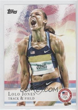 2012 Topps U.S. Olympic Team and Olympic Hopefuls - [Base] #70 - Lolo Jones