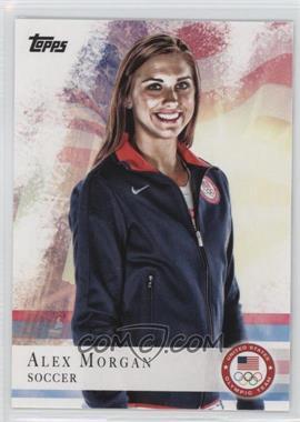2012 Topps U.S. Olympic Team and Olympic Hopefuls - [Base] #90 - Alex Morgan