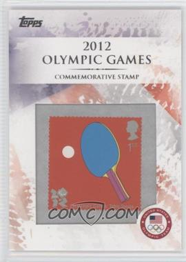 2012 Topps U.S. Olympic Team and Olympic Hopefuls - Commemorative Stamps #CS-16 - Paralympic Games: Table Tennis