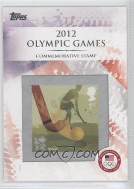 2012 Topps U.S. Olympic Team and Olympic Hopefuls - Commemorative Stamps #CS-17 - Hockey