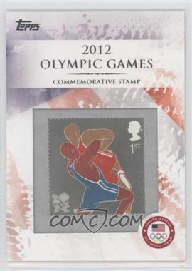 2012 Topps U.S. Olympic Team and Olympic Hopefuls - Commemorative Stamps #CS-25 - Wrestling