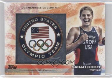 2012 Topps U.S. Olympic Team and Olympic Hopefuls - Commemorative USOC Pin #PIN-SG - Sarah Groff