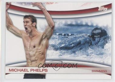 2012 Topps U.S. Olympic Team and Olympic Hopefuls - Games of the XXX Olympiad #OLY-18 - Michael Phelps