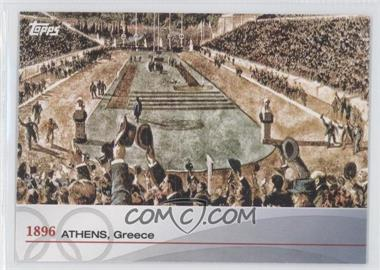 2012 Topps U.S. Olympic Team and Olympic Hopefuls - Heritage of the Games #OH-I - 1896 Athens, Greece