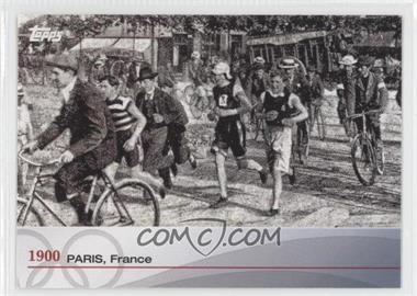 2012 Topps U.S. Olympic Team and Olympic Hopefuls - Heritage of the Games #OH-II - 1900 Paris, France