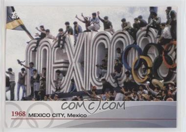 2012 Topps U.S. Olympic Team and Olympic Hopefuls - Heritage of the Games #OH-XIX - 1968 Mexico City, Mexico