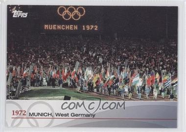 2012 Topps U.S. Olympic Team and Olympic Hopefuls - Heritage of the Games #OH-XX - 1972 Munich, West Germany