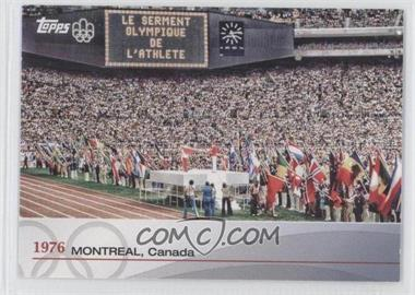 2012 Topps U.S. Olympic Team and Olympic Hopefuls - Heritage of the Games #OH-XXI - 1976 - Montreal, Canada