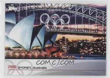 2012 Topps U.S. Olympic Team and Olympic Hopefuls - Heritage of the Games #OH-XXVII - 2000 - Sydney, Australia