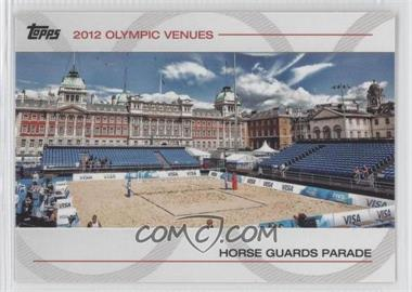 2012 Topps U.S. Olympic Team and Olympic Hopefuls - Olympic Venues #SOV-13 - Horse Guards Parade