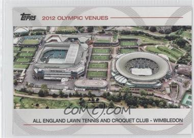 2012 Topps U.S. Olympic Team and Olympic Hopefuls - Olympic Venues #SOV-21 - All England Lawn Tennis and Croquet Club- Wimbledon