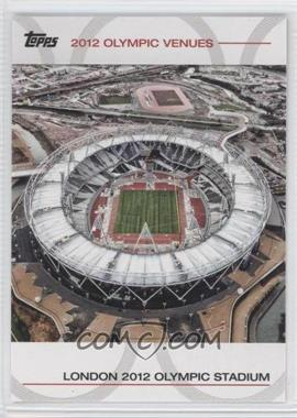 2012 Topps U.S. Olympic Team and Olympic Hopefuls - Olympic Venues #SOV-6 - London 2012 Olympic Stadium