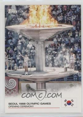 2012 Topps U.S. Olympic Team and Olympic Hopefuls - Opening Ceremony #OC-21 - Seoul 1988 Olympic Games