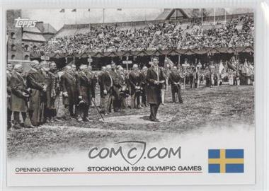 2012 Topps U.S. Olympic Team and Olympic Hopefuls - Opening Ceremony #OC-5 - Stockholm 1912 Olympic Games