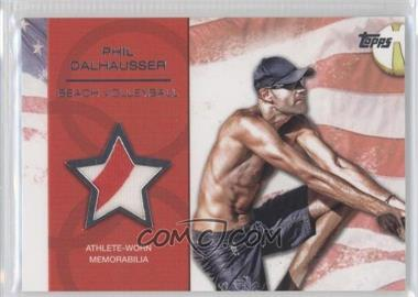2012 Topps U.S. Olympic Team and Olympic Hopefuls - Relics - Silver #OR-PD - Phil Dalhausser /50