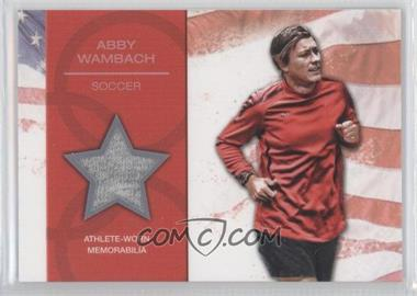 2012 Topps U.S. Olympic Team and Olympic Hopefuls - U.S. Olympic Team Relic #OR-AW - Abby Wambach