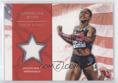 2012 Topps U.S. Olympic Team and Olympic Hopefuls - U.S. Olympic Team Relic #OR-CJ - Carmelita Jeter