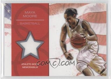 2012 Topps U.S. Olympic Team and Olympic Hopefuls - U.S. Olympic Team Relic #OR-MM - Maya Moore