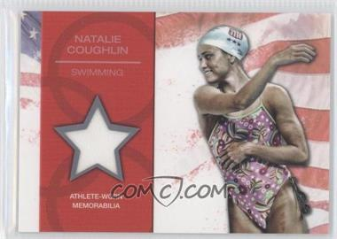 2012 Topps U.S. Olympic Team and Olympic Hopefuls - U.S. Olympic Team Relic #OR-NC - Natalie Coughlin