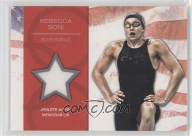 2012 Topps U.S. Olympic Team and Olympic Hopefuls - U.S. Olympic Team Relic #OR-RS - Rebecca Soni