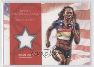2012 Topps U.S. Olympic Team and Olympic Hopefuls - U.S. Olympic Team Relic #OR-SR - Sanya Richards-Ross