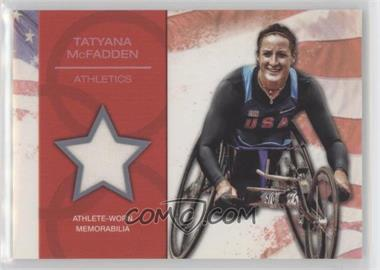 2012 Topps U.S. Olympic Team and Olympic Hopefuls - U.S. Olympic Team Relic #OR-TM - Tatyana McFadden