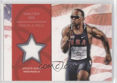 2012 Topps U.S. Olympic Team and Olympic Hopefuls - U.S. Olympic Team Relic #OR-WD - Walter Dix