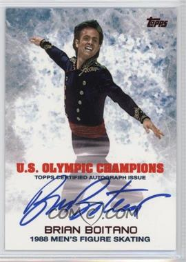 2014 Topps U.S. Olympic & Paralympic Team and Hopefuls - Olympic Champions Autographs #UOC-BBO - Brian Boitano