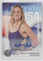 Haley Anderson #/30