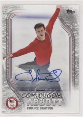 2018 Topps U.S. Olympic & Paralympic Team and Hopefuls - [Base] - Silver Autographs [Autographed] #US-15 - Jeremy Abbott /50