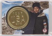 Chloe Kim #/25