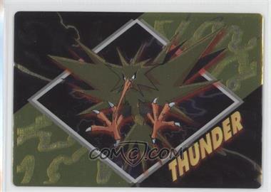 1997-2001 Pokemon Meiji Promos - [???] #NoN - Thunder (Zapdos)